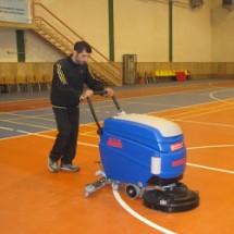 gyms-scrubber زمین شوی ورزشگاه