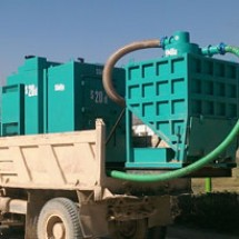 vacuum-loader مکنده کامیونی صنایع سیمان