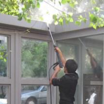washing-building-facade شستشوی نمای هتل