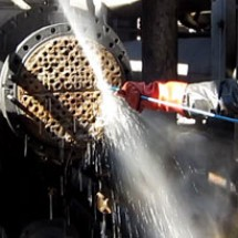 pipe open up industrial لوله بازکن مبدل حرارتی