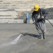 petrochemical-factorie areas-high pressure-washer شستشوی محوطه صنایع پتروشیمی