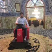 sweeper machine نظافت مساجد و اماکن مذهبی