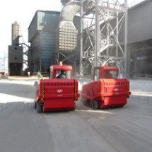 sweeper-machine-for-steel-factories نظافت محوطه کارخانه فولاد