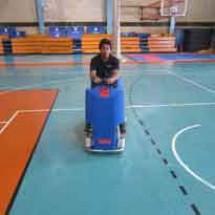 sports complex scrubber dryer زمین شوی سالن های ورزشی چند منظوره