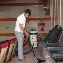 amphitheater-vacuum-cleaner جاروبرقی صنعتی سالن آمفی تئاتر