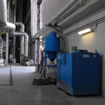 central vacuum cleaner جاروبرقی مرکزی صنایع غذایی