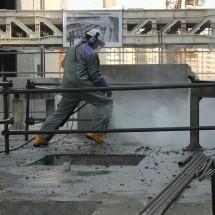 removal-concrete خدمات تخریب بتن با واترجت