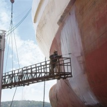 cleaning-ship شستشوی بدنه کشتی با واترجت صنعتی