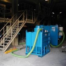 central vacuum applications cement industry کاربرد مکنده مرکزی در صنایع سیمان