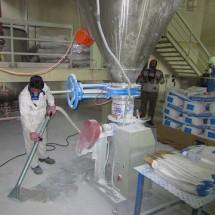 remove contaminated with industrial vacuum cleaner حذف آلودگی با جاروبرقی صنعتی