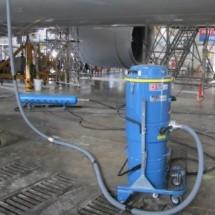 composite dust removal industrial vacuum cleaner حذف گرد و غبار کامپوزیت با جاروبرقی صنعتی