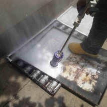 washing baking trays ultra high pressure washer شستشوی سینی پخت نان