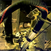 the central vacuum cleaner of the steel industry مکنده مرکزی صنایع فولاد