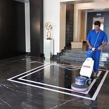 wax floors in commercial واکس کف در مراکز تجاری