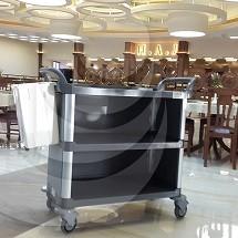 trolley carrying food ترولی حمل غذا