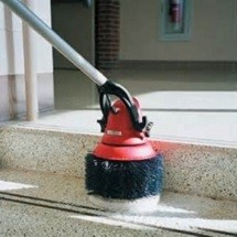 stairwell washing شستشوی راه پله