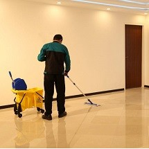 use of cleaning trolley in cleaning کاربرد ترولی نظافتی