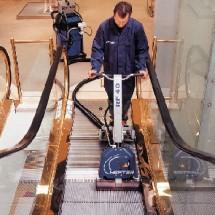 airport escalator cleaning نظافت پله برقی فرودگاه