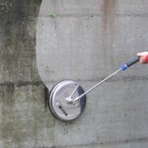 wall cleaning with telescopic lance and nozzle شستشوی دیوار با لنس تلسکوپی و نازل دیوار شوی
