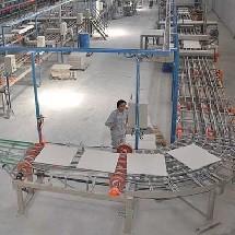 heavy duty sweeper in cleaning ceramic factory سویپر سنگین کار کارخانه سرامیک