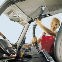 spray vac car inside cleaning صفرشویی با دستگاه اسپری مکش