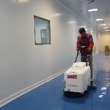 floor scrubber for spread of disease جلوگیری از انتشار باکتری با اسکرابر