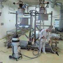 pharmaceutical industrial vacuum cleaner نظافت داروسازی با جاروبرقی صنعتی