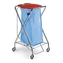 bag holder trolley ترولی جمع آوری و حمل زباله