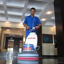 floor polishing درخشش سطوح با پولیشر
