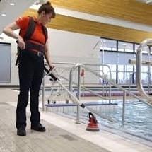 cleaning hotels and multi surface scrubber اسکرابر چند منظوره و نظافت هتل