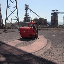 iron factory sweeper machine کاربرد سوییپر فولاد و ذوب آهن