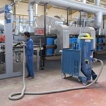 industrial vacuum cleaner steel factory جاروبرقی صنعتی کارخانه فولاد