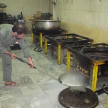 kitchens-equipment-waterjets شستشو تجهیزات آشپزخانه