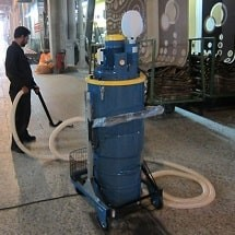 industrial cleaning textile factory نظافت صنعتی کارخانه نساجی