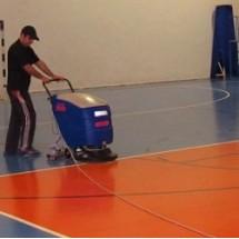 industrial cleaning sport center نظافت مجموعه ورزشی با بخارشوی صنعتی