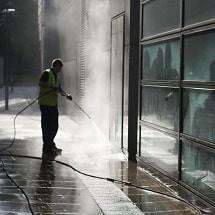 corona virus high pressure washer نظافت شهری در دوران کرونا با واترجت صنعتی