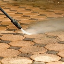 rubber streaks removal pressure washer نظافت پارکینگ با واترجت صنعتی