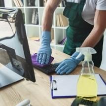 workplace cleaning checklist دستورالعمل نظافت محیط کار