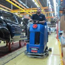 mop production hall کفشوی سالن های تولید