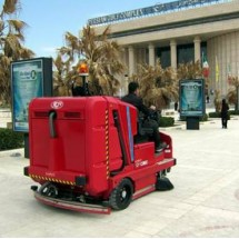 commercial-complexe-parkings-sweeper نظافت پارکینگ مجتمع های تجاری