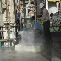 wash oil installations شستشوی تاسیسات نفتی