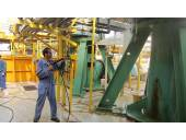 شستشوی قطعات تاسیسات تجهیزات در صنایع نفت و گاز