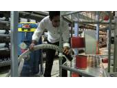 جارو برقی پر کاربرد جاروی کارخانه های بزرگ،نساجی