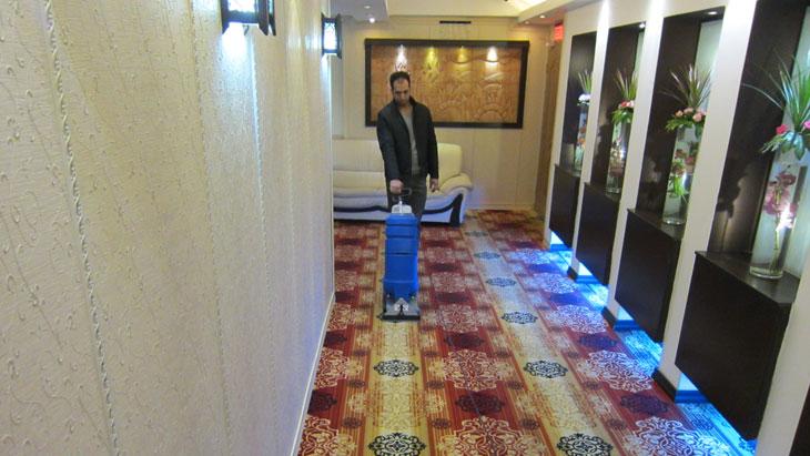 شستشوی موکت هتل ها