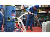 نظافت سوله انبار کارگاه کارخانه نیروگاه پالایشگاه
