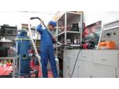 نظافت مراکز پالایشگاهی نیروگاه صنایع سنگین فولاد