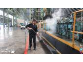 شستشو جرم گیری دستگاه ها واتر جت فولاد ذوب آهن آب