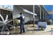شستشو چربی روغن کارگاه کارخانه خودروسازی تعمیرگاه