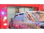شستشوی جدید ماشین با مواد شوینده رنگی فوم  انواع