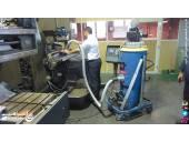 نظافت انبار با مکنده دستگاه مکنده صنعتی جاروبرقی